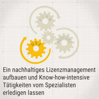 Use - Management von Softwarelizenzen (SAM)